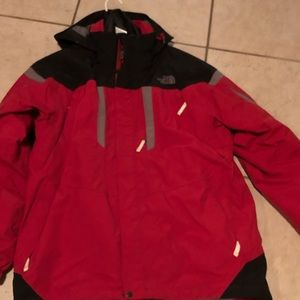 North Face jacket with liner